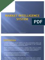 5 Market Intelligence System