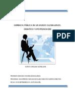 Gerencia Publica Mundo Globalizado Desafios y des