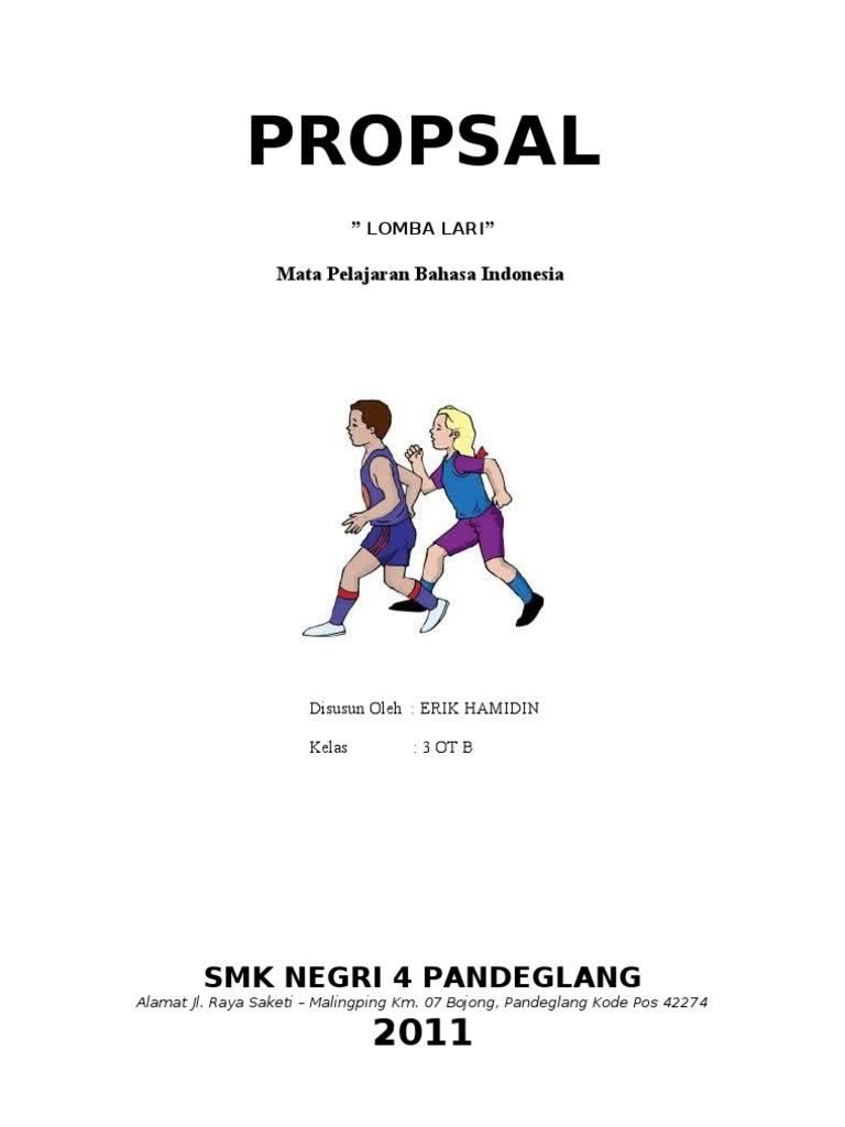 Proposal Kegiatan Lomba Lari
