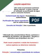 Poluição Aquática, Abastecimento e Tratamento de água