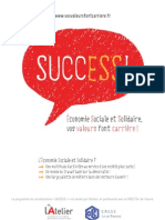 """SUCCESS !"" plaquette de sensibilisation"
