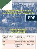 Materiales Didácticos de FpN para bachillerato y con adolescentes
