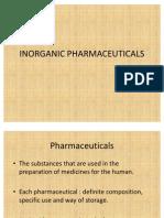 Inorganic Pharmaceuticals