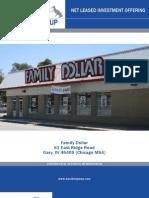 Net Leased Family Dollar Property