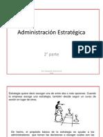 Administración Estratégica 2° parte ver 2003