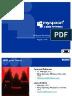 MySpace Training