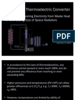Multiphase Thermoelectric Converter - Turning Waste Heat into Usable Electric Power