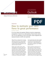 How to Motivate Your Sales Force to Great Performance