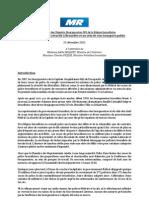 Mémorandum MR - Sécurité Bruxelles - STIB