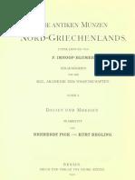 Die antiken Münzen von Dacien und Moesien. 2. Halbb., Abth. 1