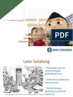 Presentation menuju sistem perekonomian yang tahan krisis dan berbasis syariah