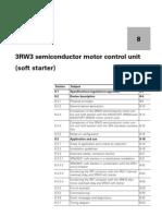 3RW30 Sirius System Manual 3RW3 Ch 8 52 Pgs