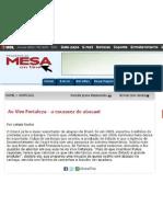Ao Vivo Fortaleza - A Escassez do Abacaxi - Prazeres da Mesa - Outubro/2011
