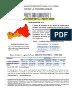 Reporte 1 - 2010 Ejecucion Presupuestal Region Pasco Enero - Marzo 2010