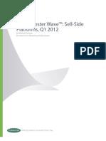 Forrester Wave Sell-side Platforms Q112