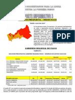 Reporte 3 - 2010 Ejecucion Presupuestal Region Pasco Enero Julio 2010