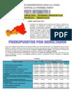 Reporte 5 - Ejecucion Presupuestal Programas Presupuestales Estrategicos - Enero Agosto 2010