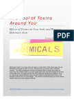 The Pool of Toxins Around Us