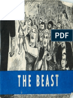 Chick Tract - The Beast (1966 Large Format)
