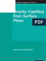 Gravity Capillary Free Surface Flows