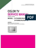 Manual de Servicio Lg 21fx5ree
