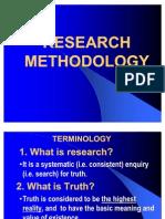 Research Methodology Power Poin Nov 2011 Sem 1