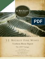 Wine Report 2009 Rhône Norte