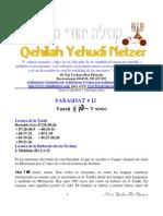 Parashat Vayeji # 12 Adul 6012