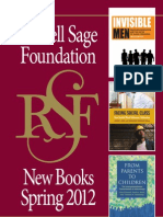 Russell Sage Foundation Spring 2012 Catalog