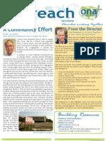 Outreach Newsletter Winter 2012