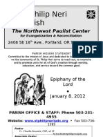 Bulletin for January 8, 2012