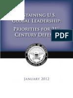 Defense Strategic Guidance