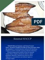 Aplicarea principiilor HACCP în fabricarea pesteluiiii