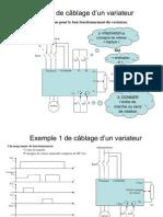 Principe de cablage du variateur animé