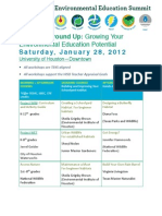 2012 Houston Environmental Education Summit