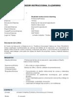 Aviso Diseñador instruccional Teleduc