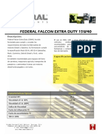 Federal Falcon Extra Duty 15w-40
