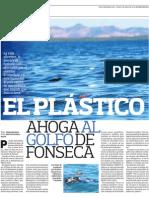 El plástico ahoga al golfo de Fonseca I
