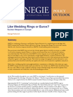 Like Wedding Rings or Euros? Nuclear Weapons in Europe