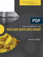 The Future of the Nuclear Suppliers Group