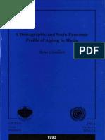 A Demografic and Socio-Economic Profile in Malta