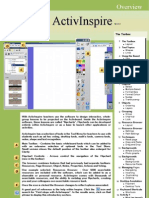 ActivInspire Manual 2009 an Board