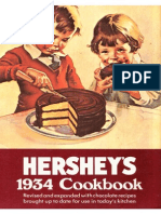Hershey's 1934 Cookbook - Hershey