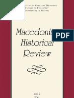 The Aromanians and IMRO (Nikola Minov)
