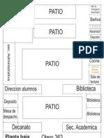 Mapa de La Facultad