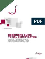 Beginners Guide To SSL Certificates PDF