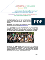 KWS London Annual Newsletter December 2011
