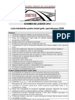2012 CFDP Examen de Licenta