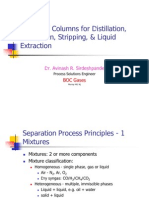 3965520 Design of Columns for Distillation Absorption Stripping