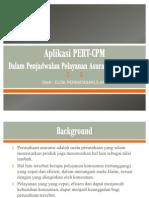 Aplikasi PERT CPM Revisi